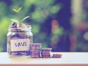 Saving-money-jar